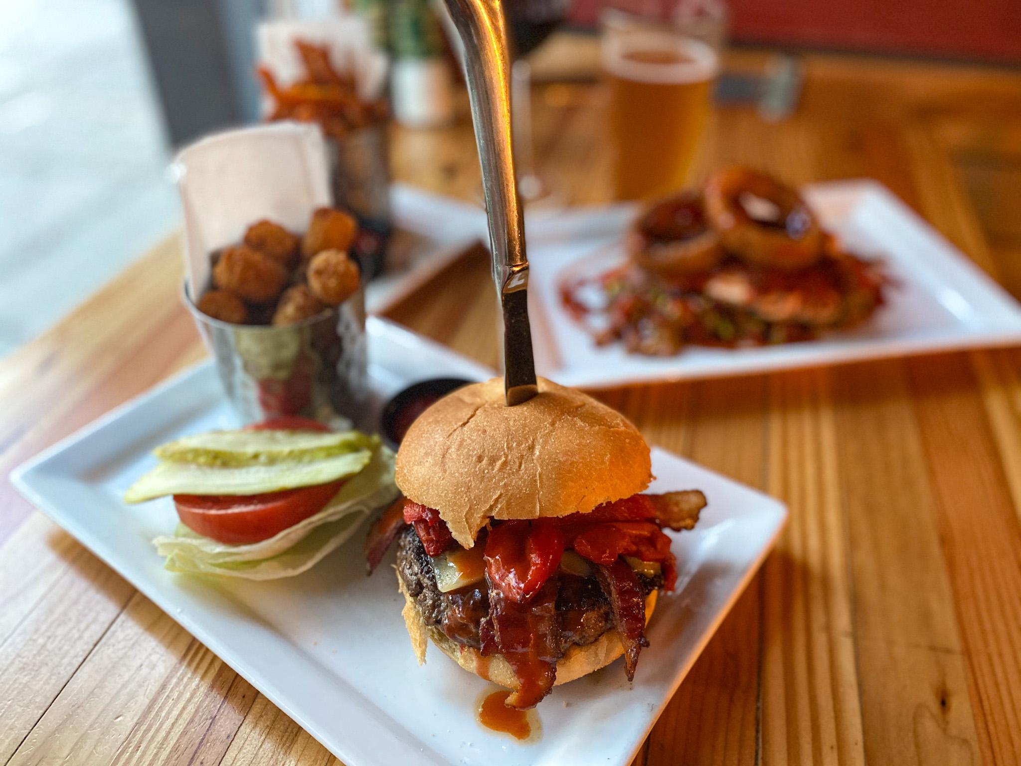 The Black Flag Burger