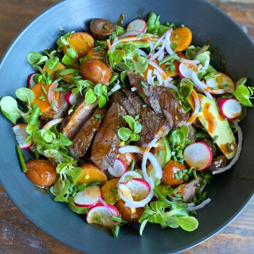 Salad finished product