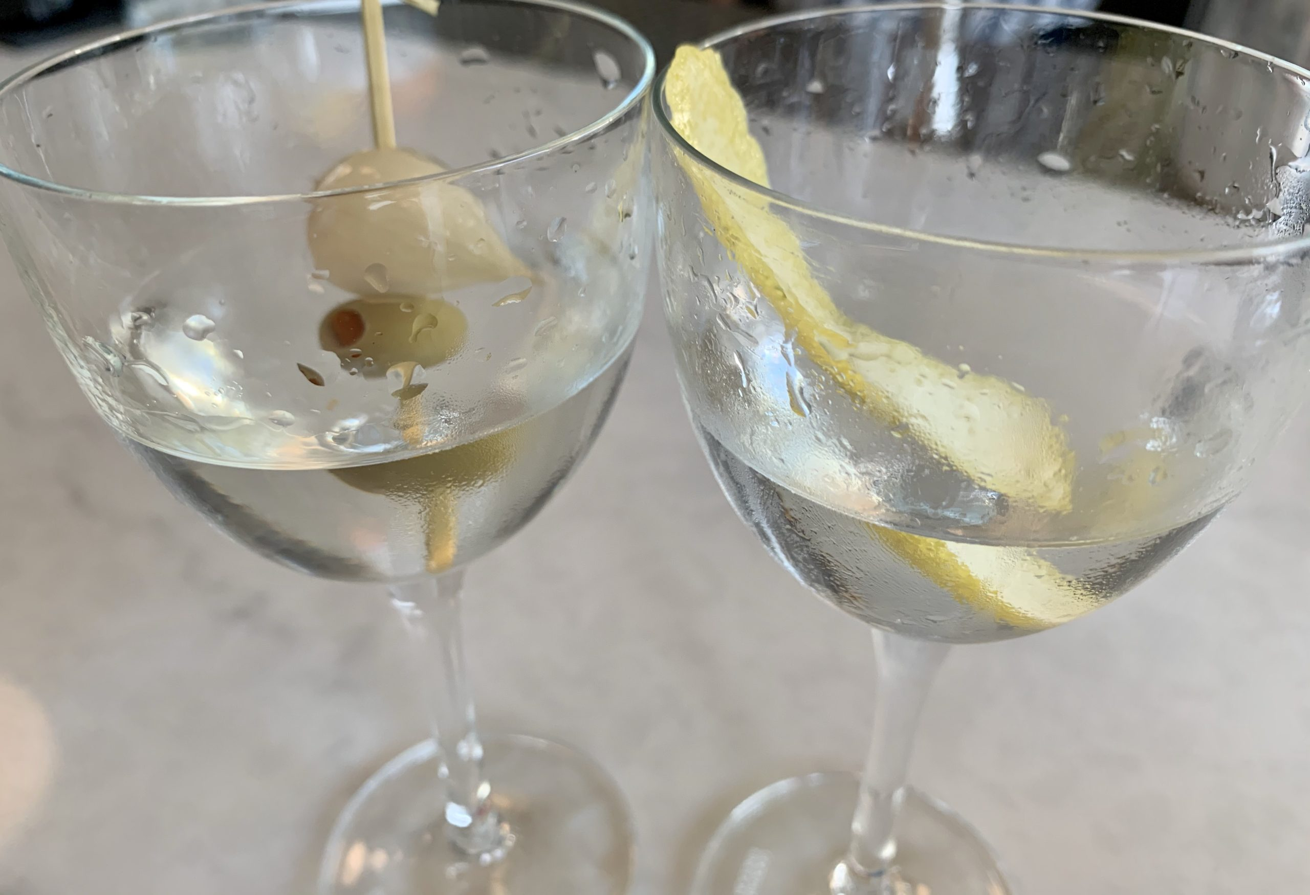 Intermezzo Happy Hour Martini Tasting