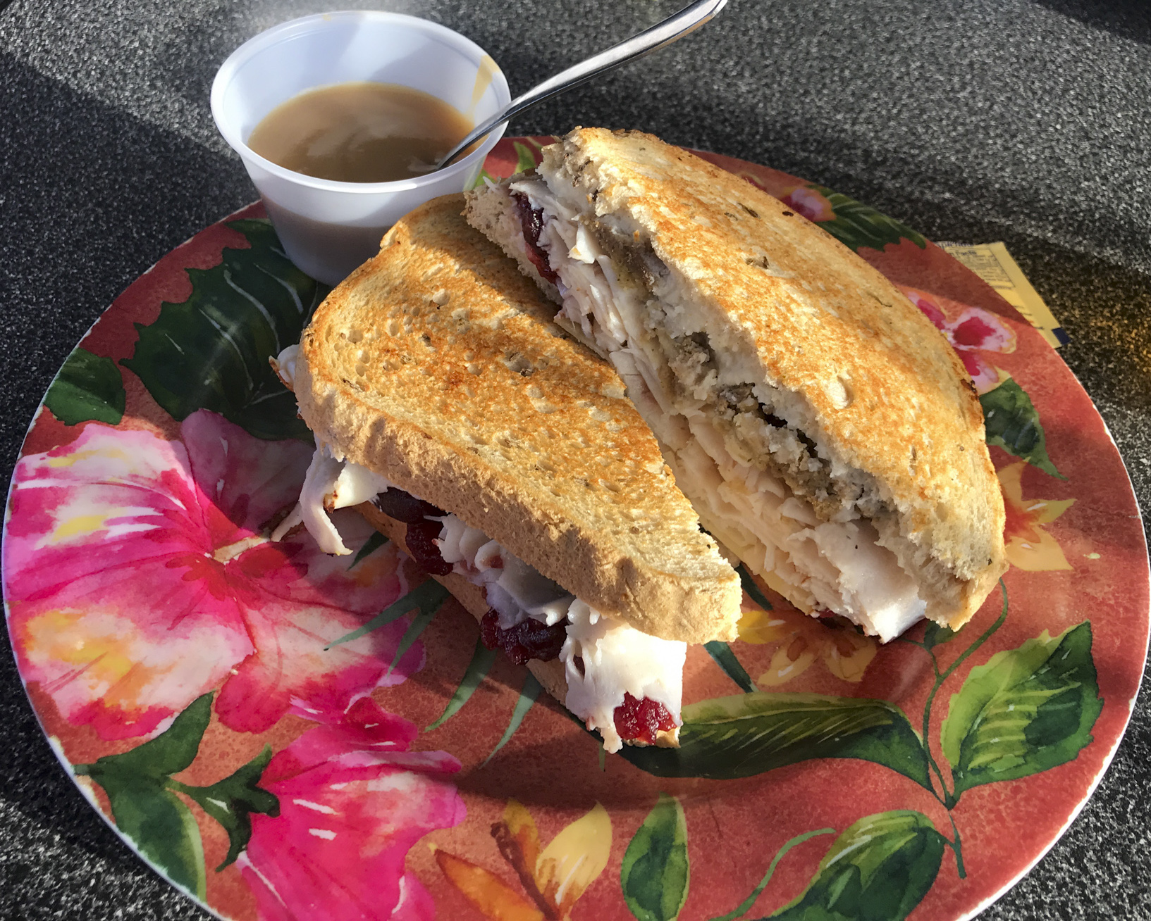 Pom Pom's Mama Ling Ling's Thanksgiving Sandwich