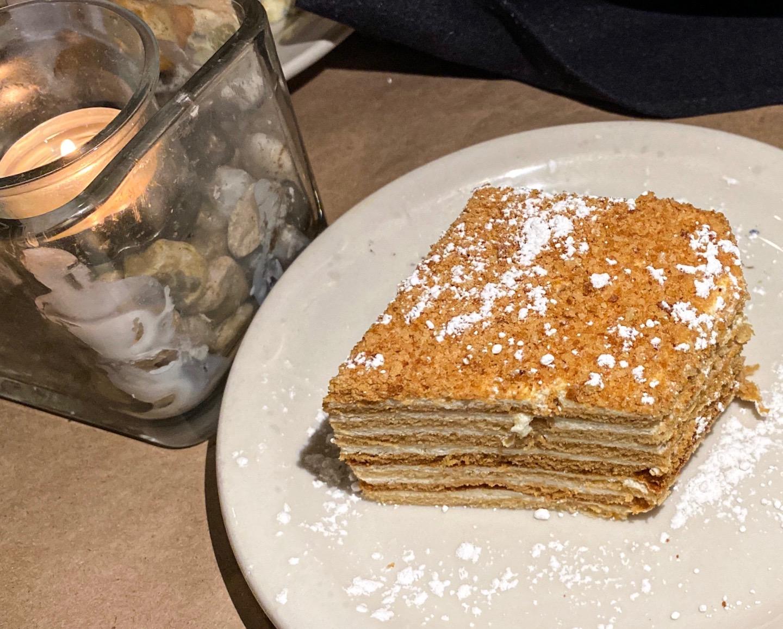 The Honeycomb cake