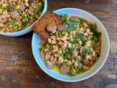 Dashi Beans with Sausage Recipe