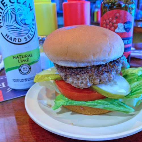 The World Champ Burger from El Cap