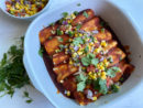 Healthy-ish Chicken Enchiladas Recipe
