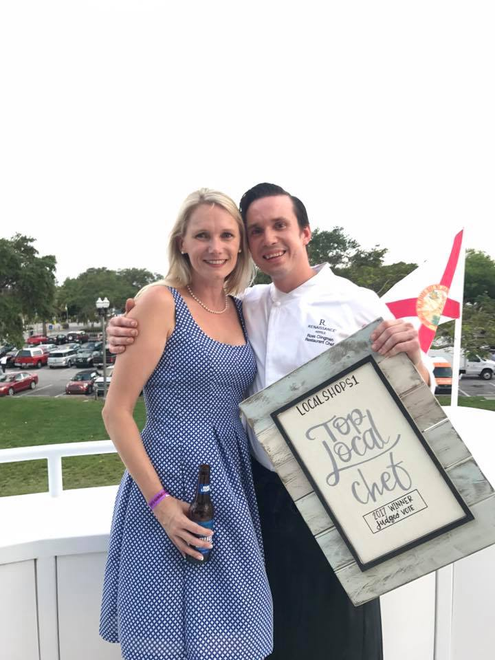 Melissa and Ross Top Local Chef 2017