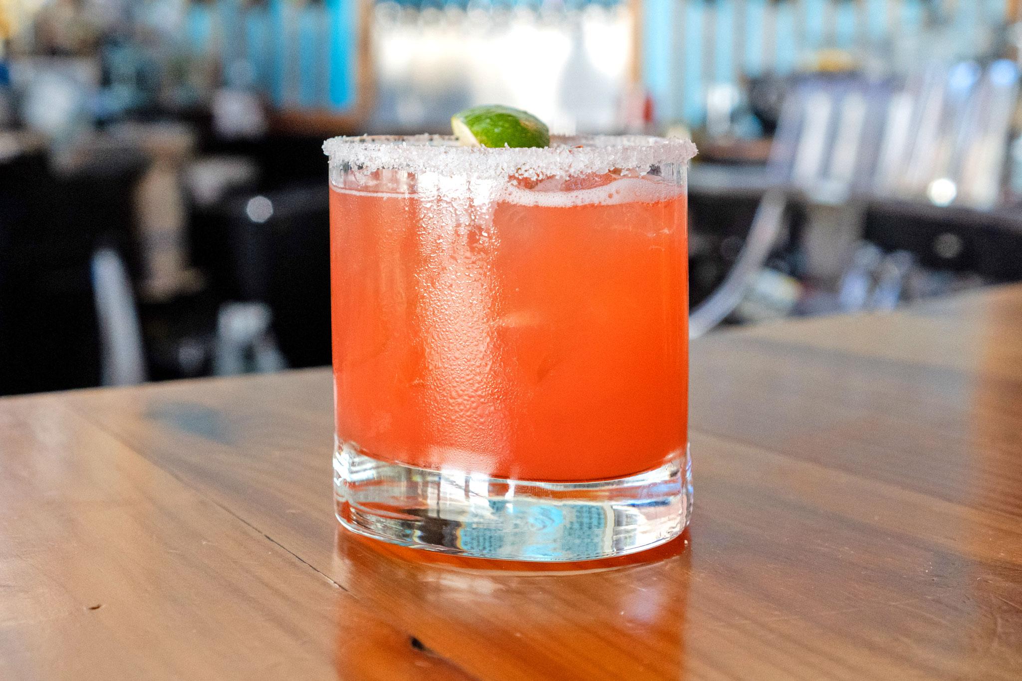 House Blood Orange Margarita