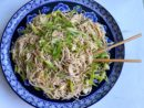 Sambal Soba Noodle Salad with Leeks and Lots of Green Onion Recipe