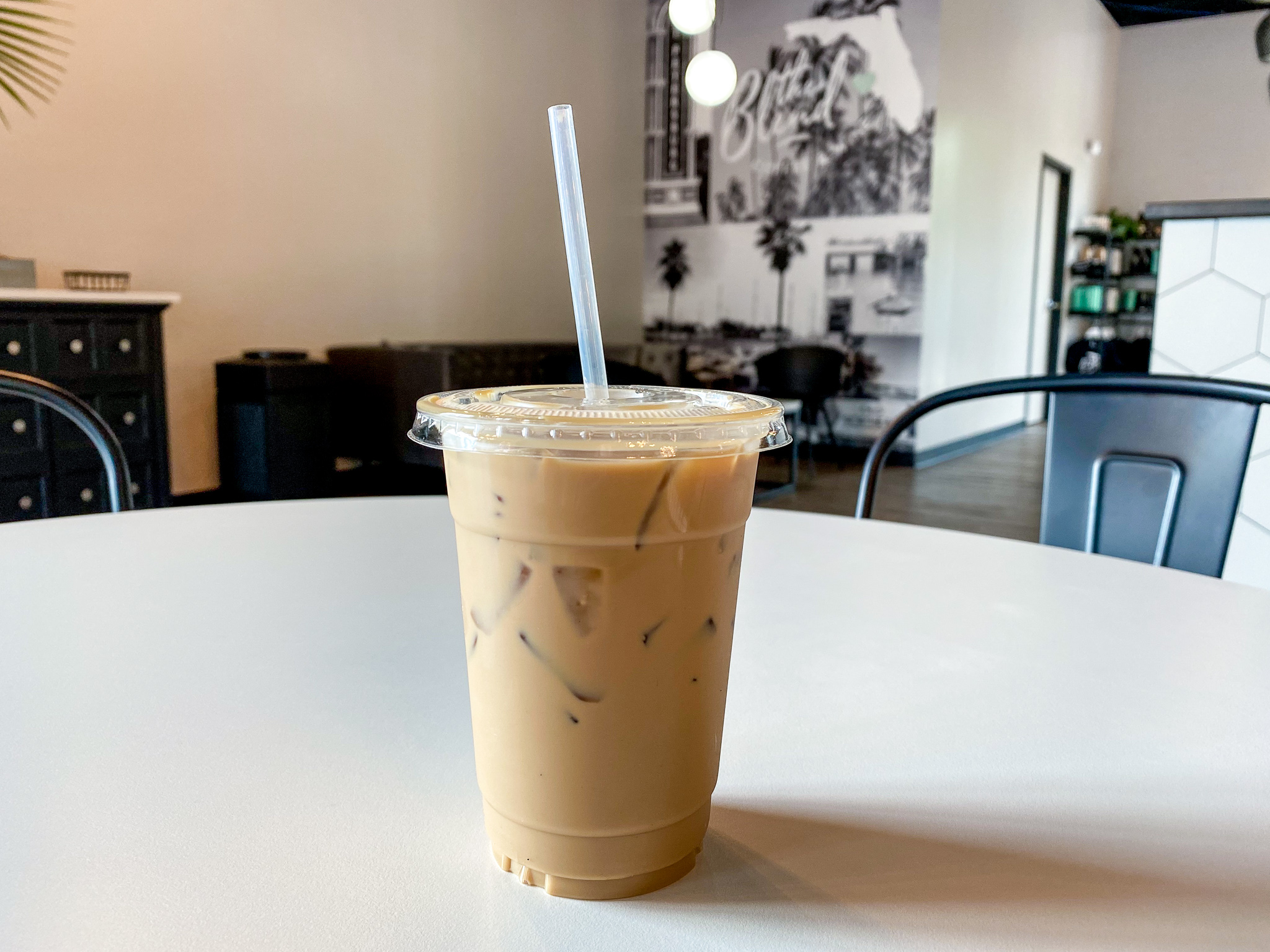 Coconut Caramel Iced Latte