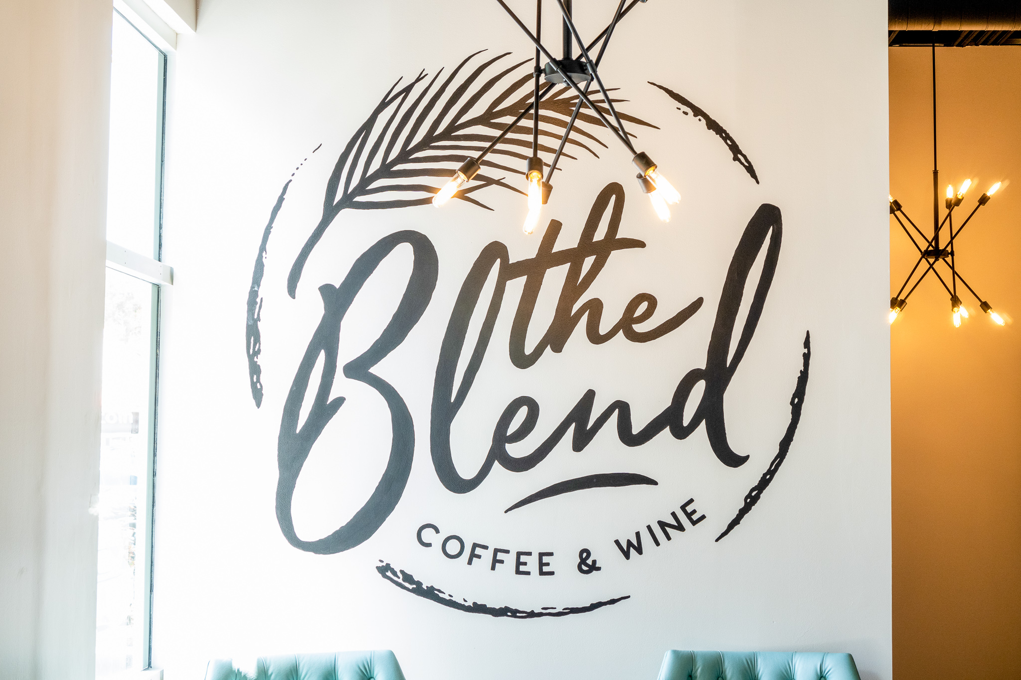 The Blend Mural at the Old Northeast Location