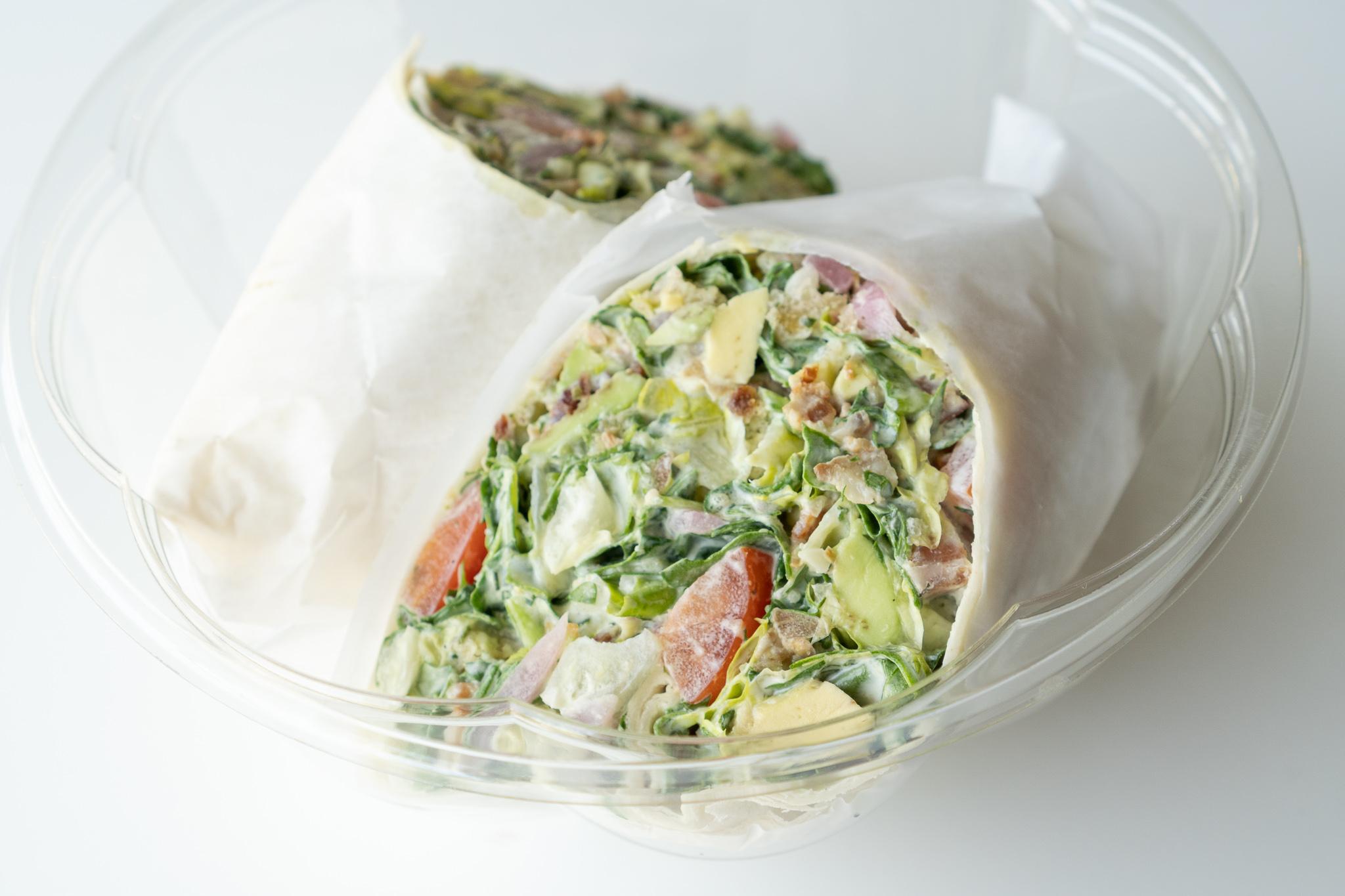 Greenstock Chef Inspired BLAT Wrap