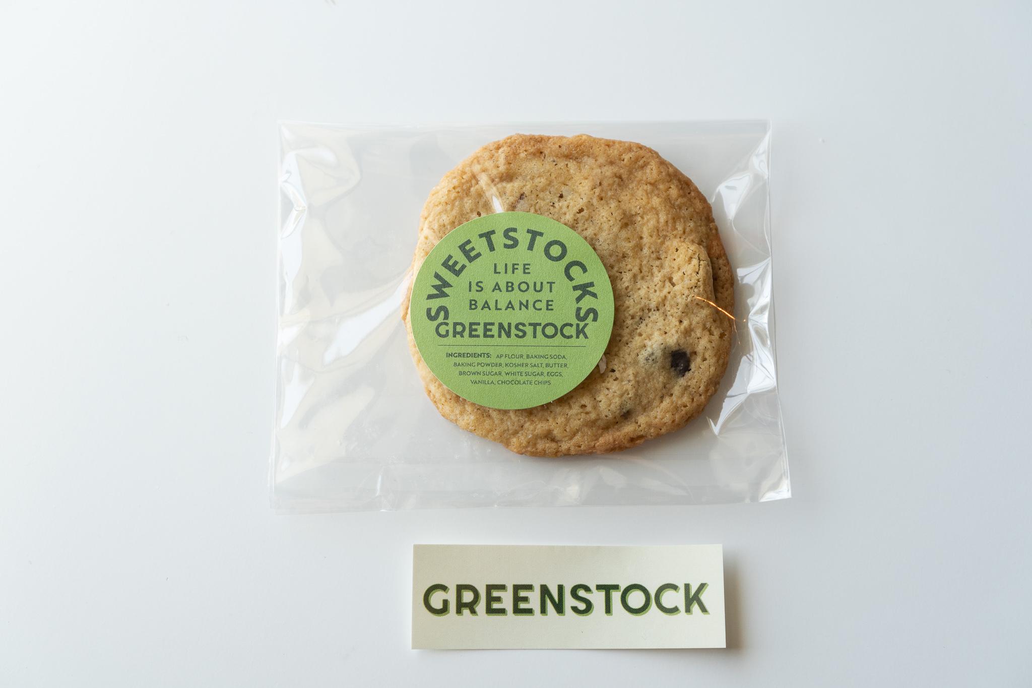 Greenstock Freshly Baked Chocolate Chip Cookie