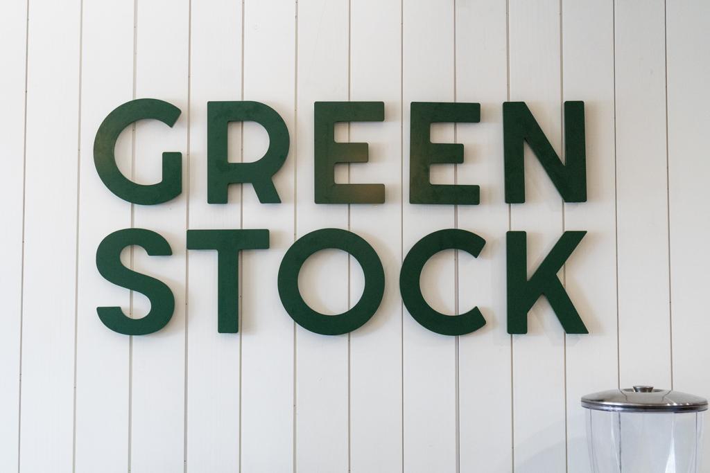 Greenstock Sign