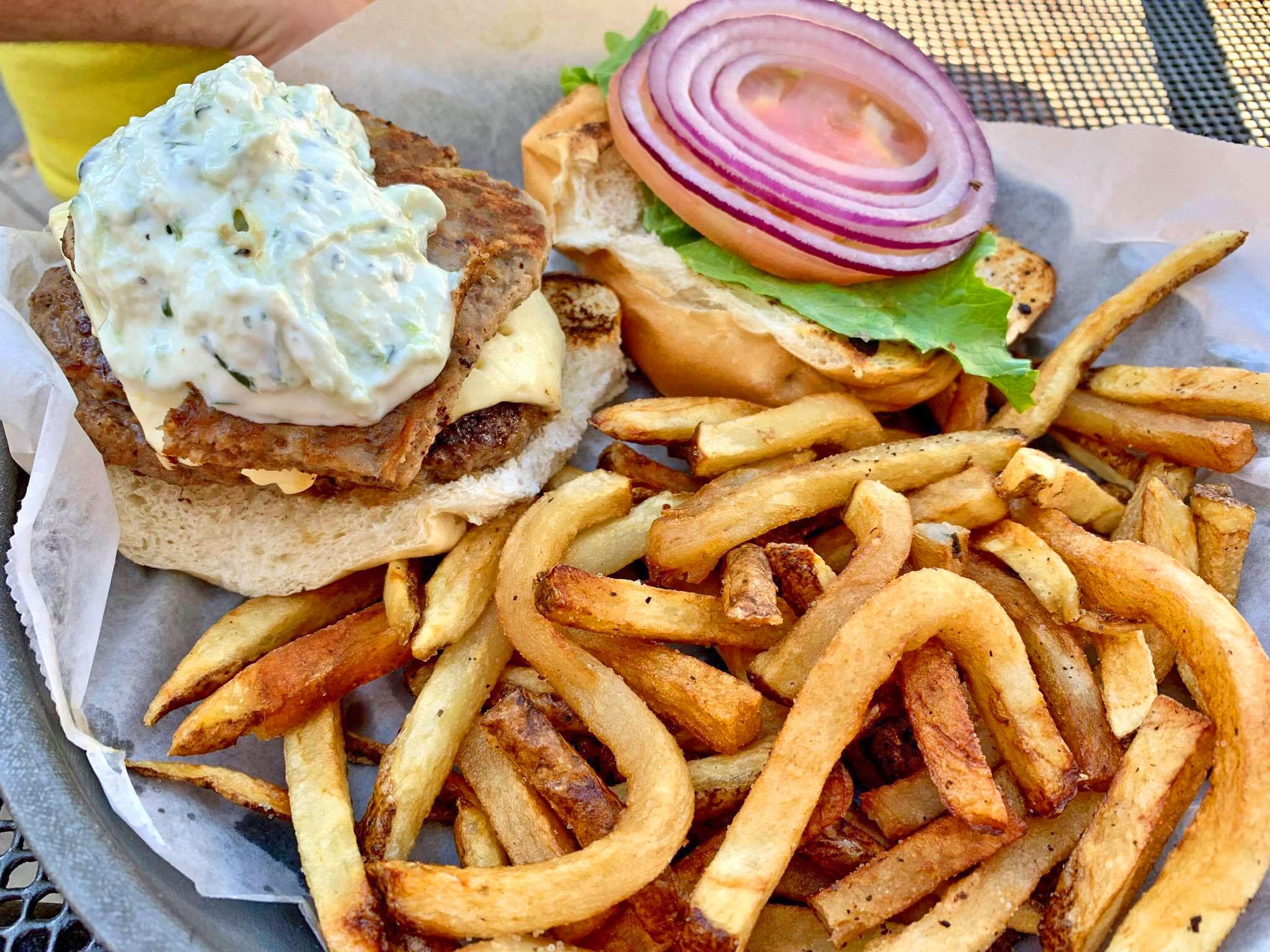 The Burg Gyro Burger