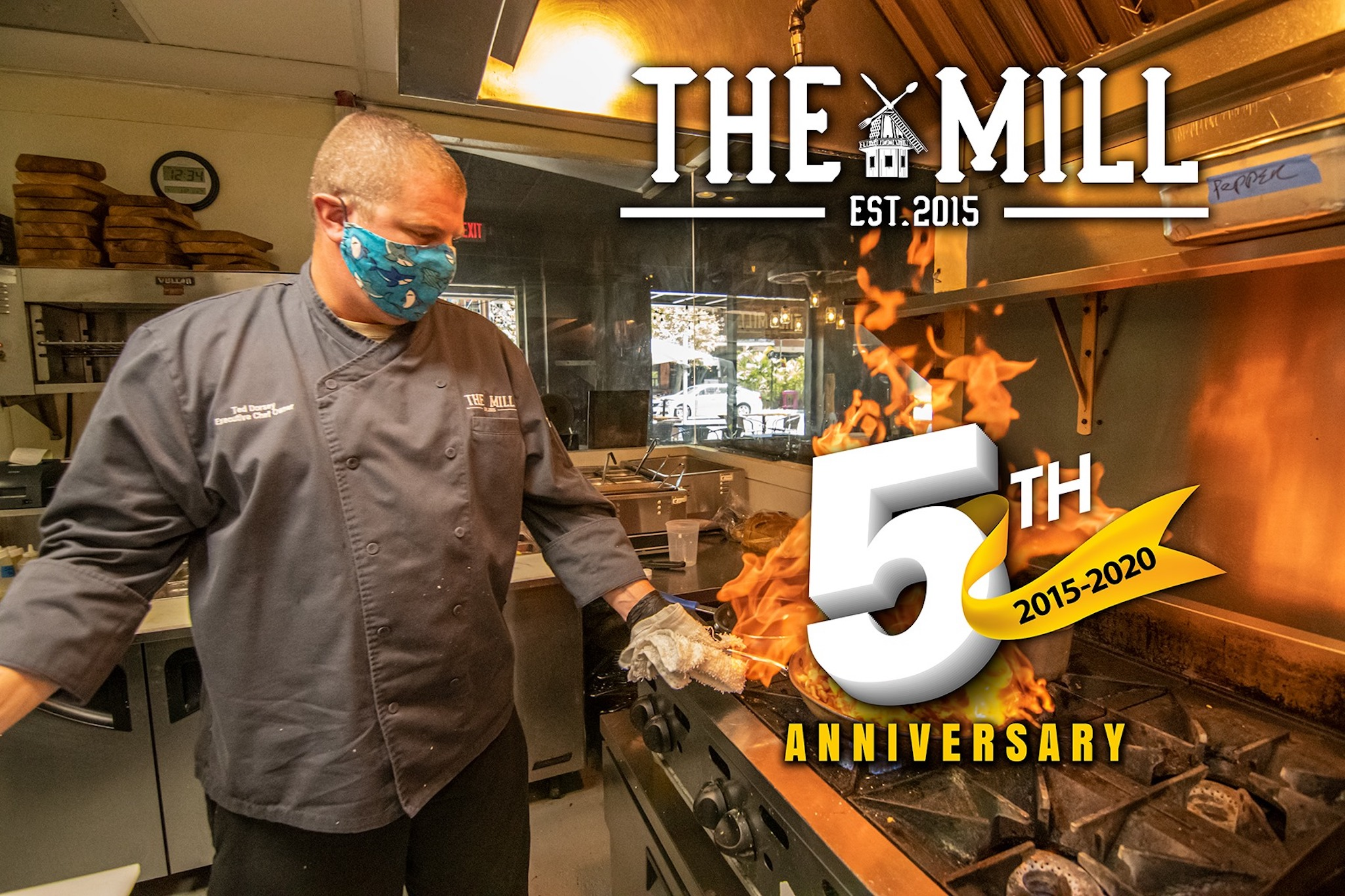 The Mill 5 Year Anniversary with Chef Ted Dorsey (photo courtesy of The Mill)