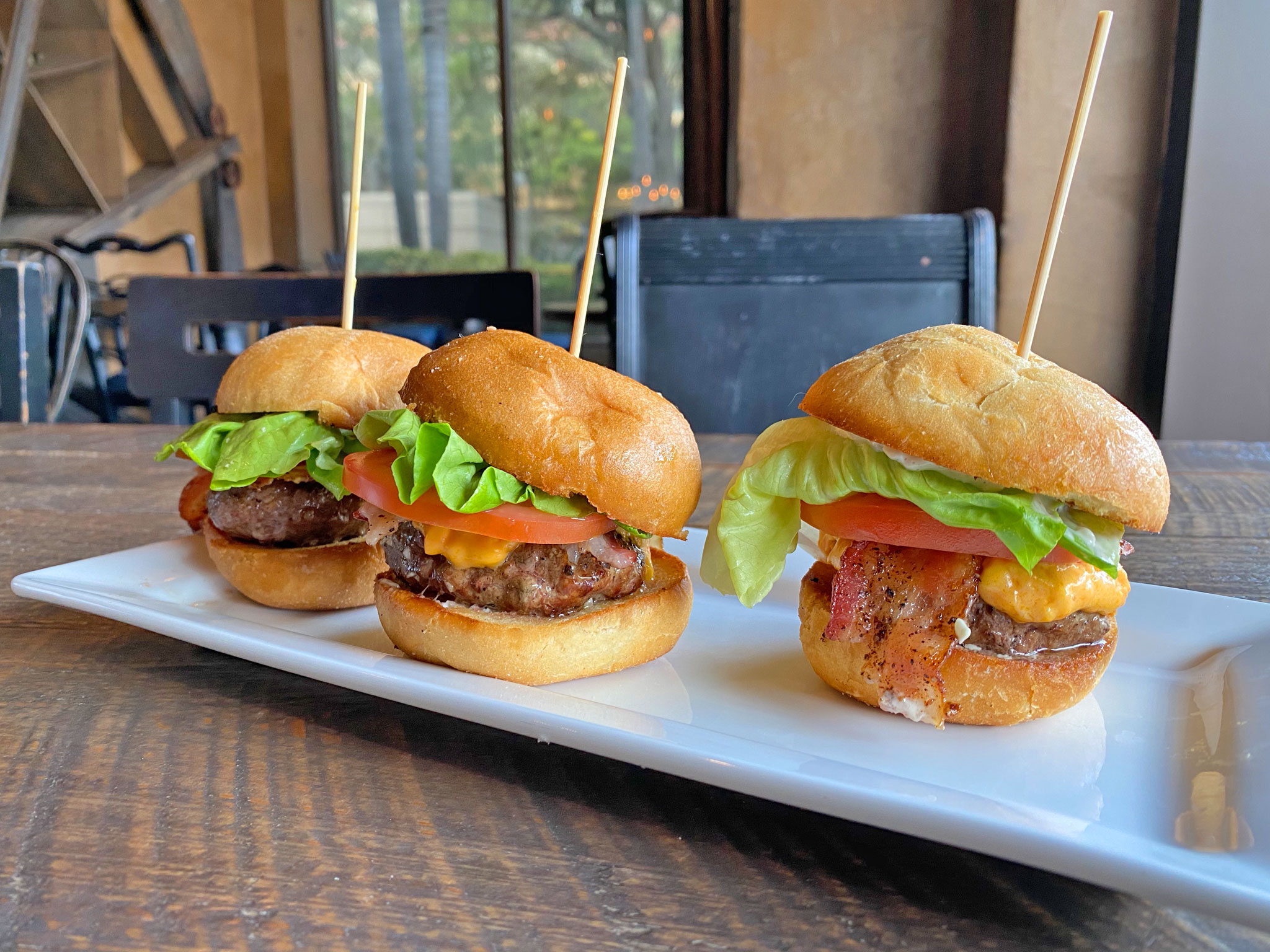 The Mill Burger Sliders