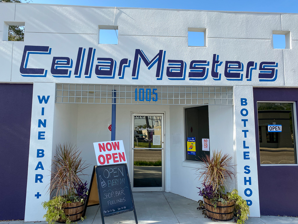CellarMasters Wine Bar and Bottle Shop Exterior