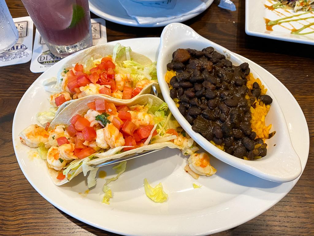 Yucatan Shrimp Tacos