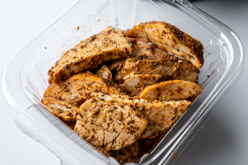 Grab and Go Blackened Chicken