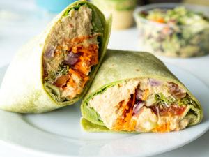 Veggie Hummus Wrap