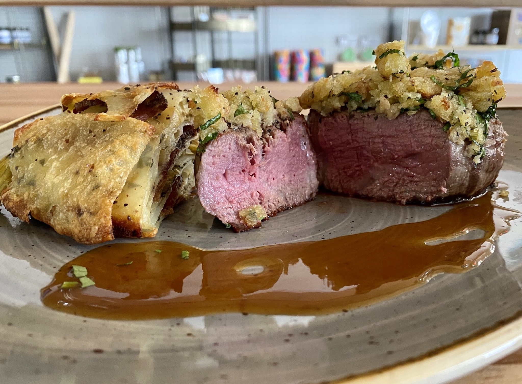 Two Graces - Filet Mignon Perectly Cooked
