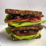 BLT with Basil Mayonnaise