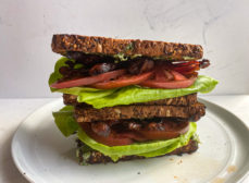 BLT with Basil Mayonnaise Recipe
