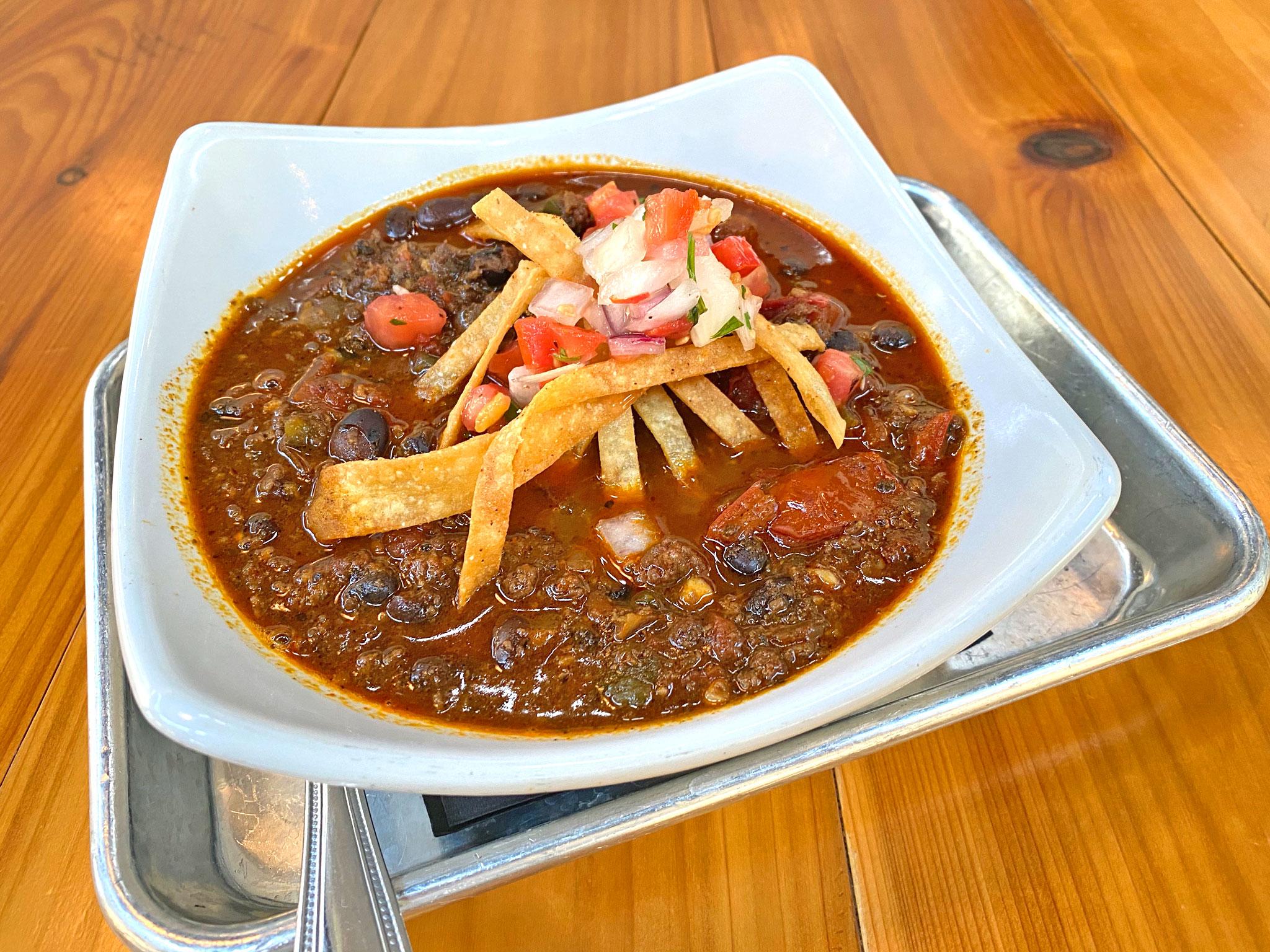 Sea Dog Cantina Chorizo Black Bean Chili