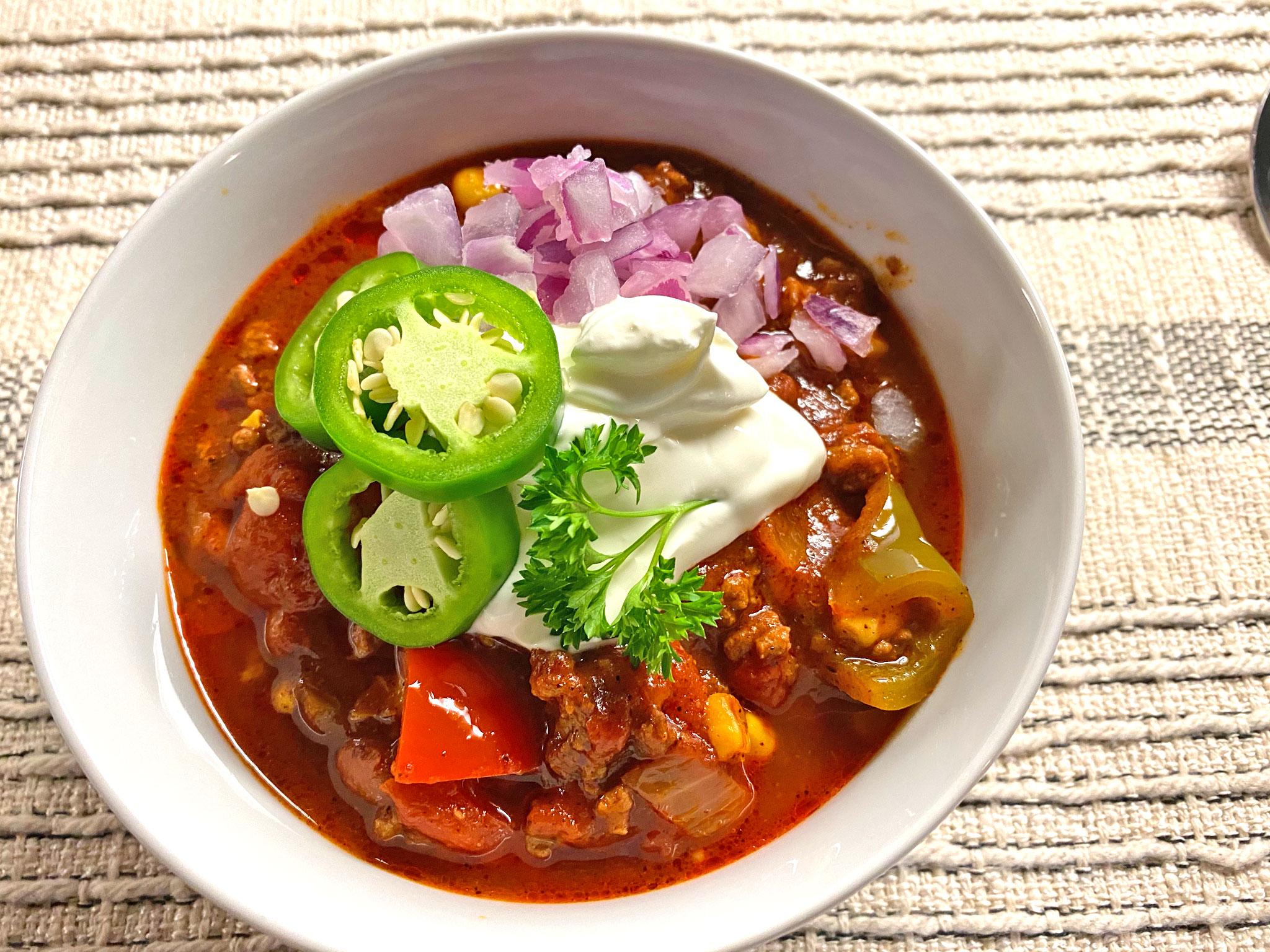The Author's Homemade Chili