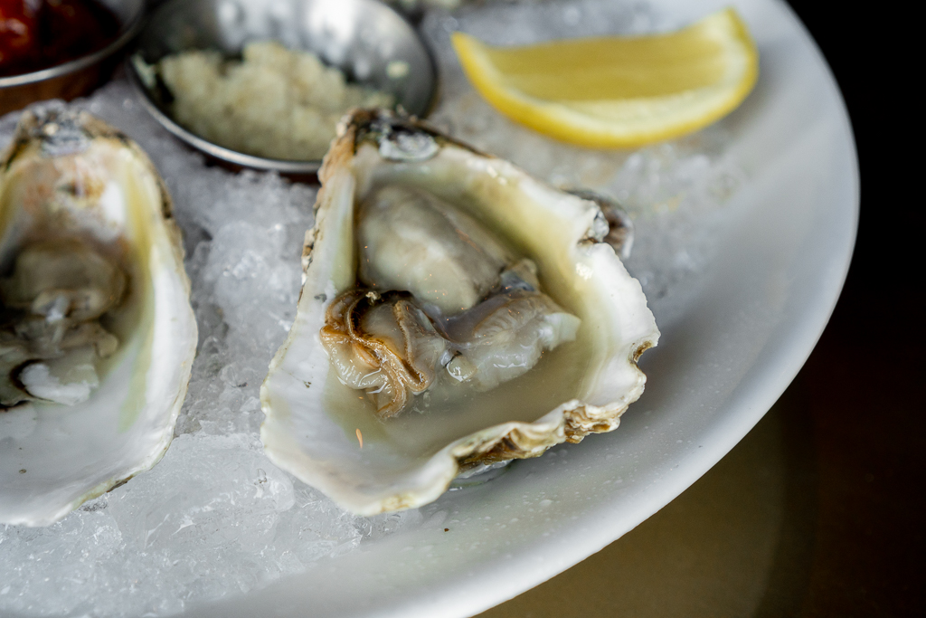 The Urban Stillhouse Close Up Lost Coast Oysters
