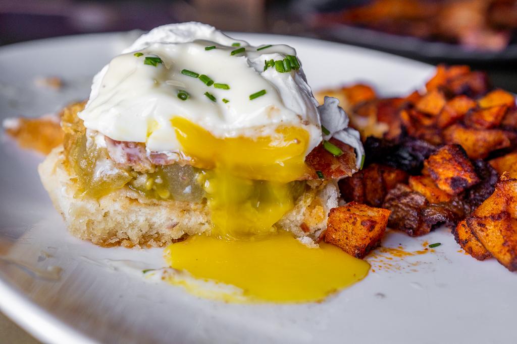 The Urban Stillhouse Eggs Benedict Food Porn