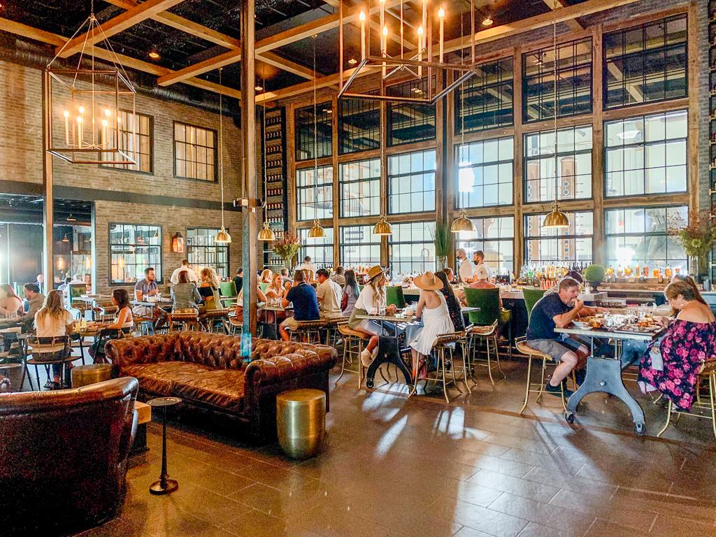 The Urban Stillhouse Interior Dining Area