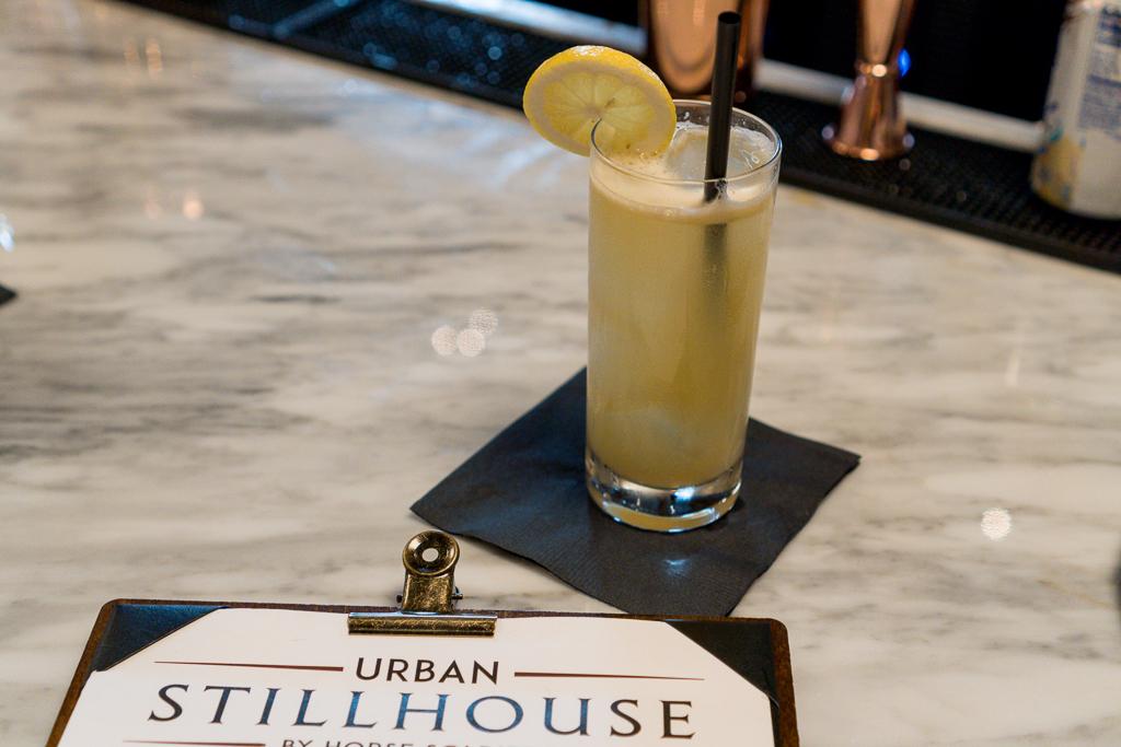 The Urban Stillhouse Sand and Sea Cocktail