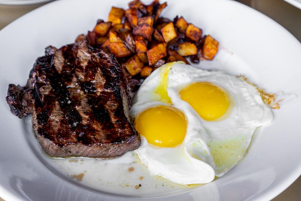 The Urban Stillhouse Steak and Eggs