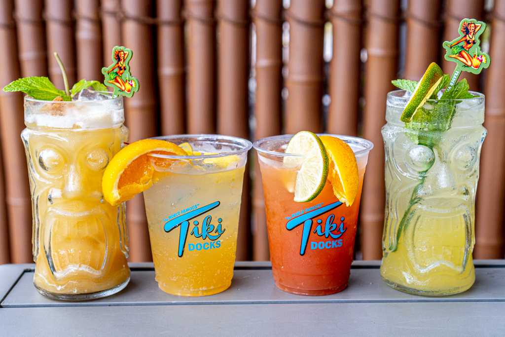 Tiki Docks Cocktails