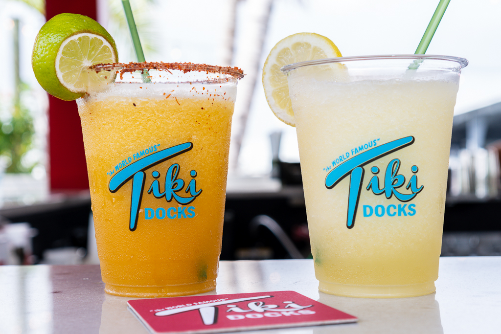 Tiki Docks Frozen Drinks