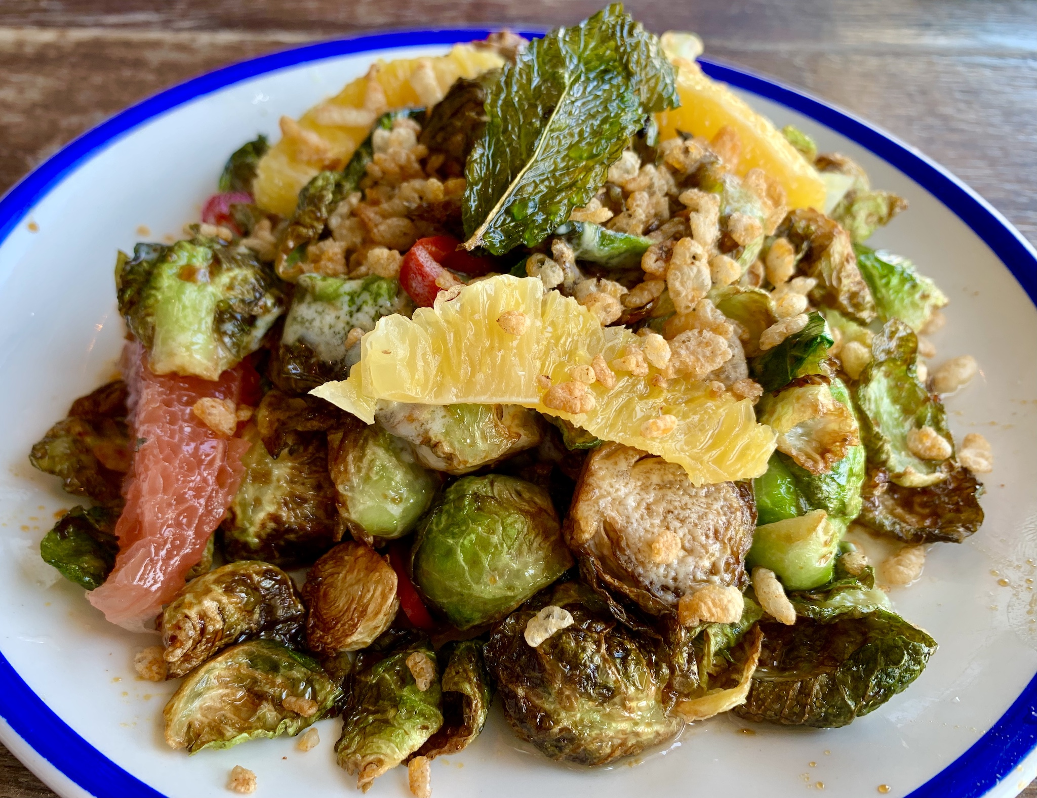 Noble Crust - Crispy Brussel Sprouts