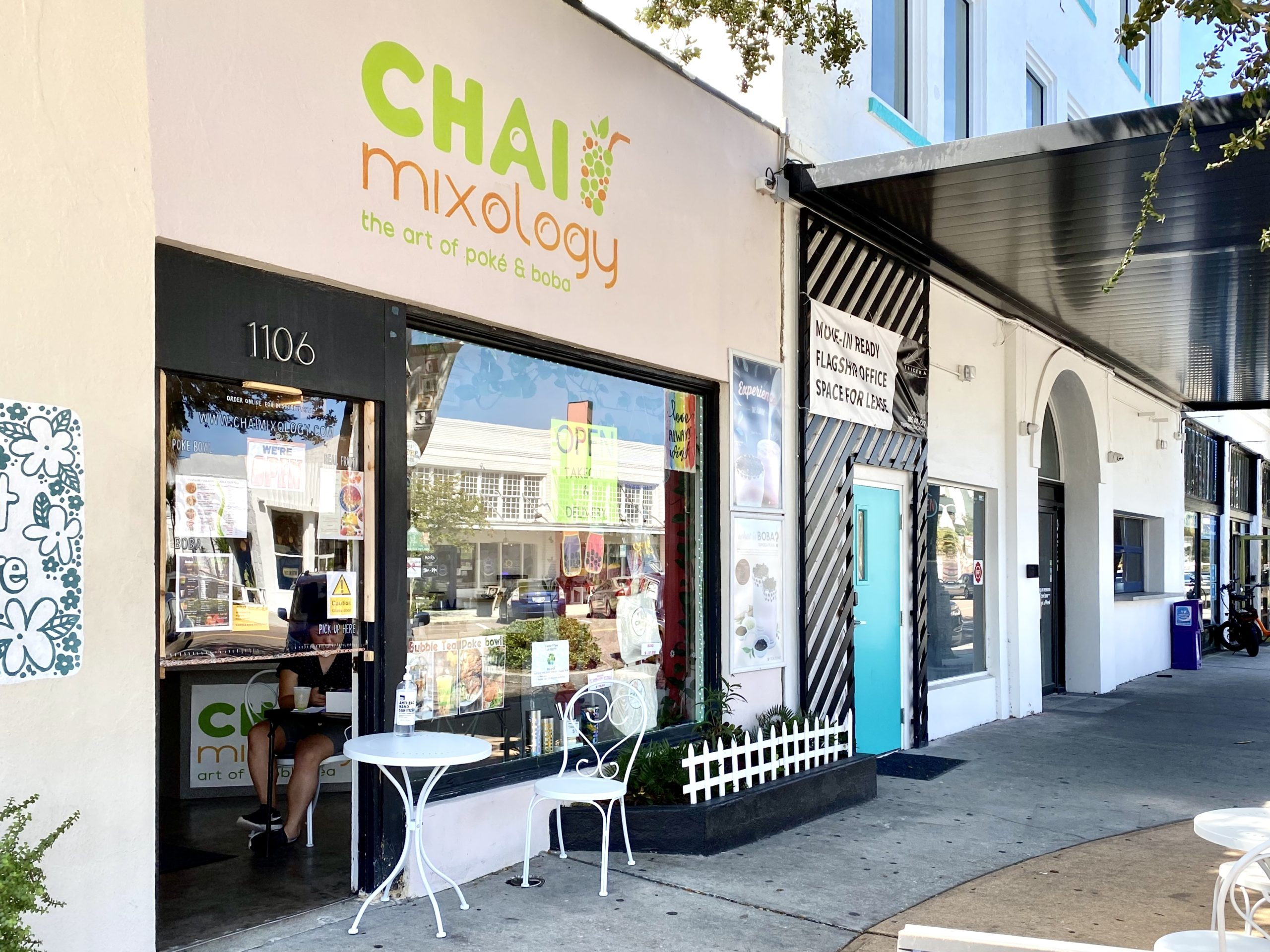 Chai Mixology Exterior