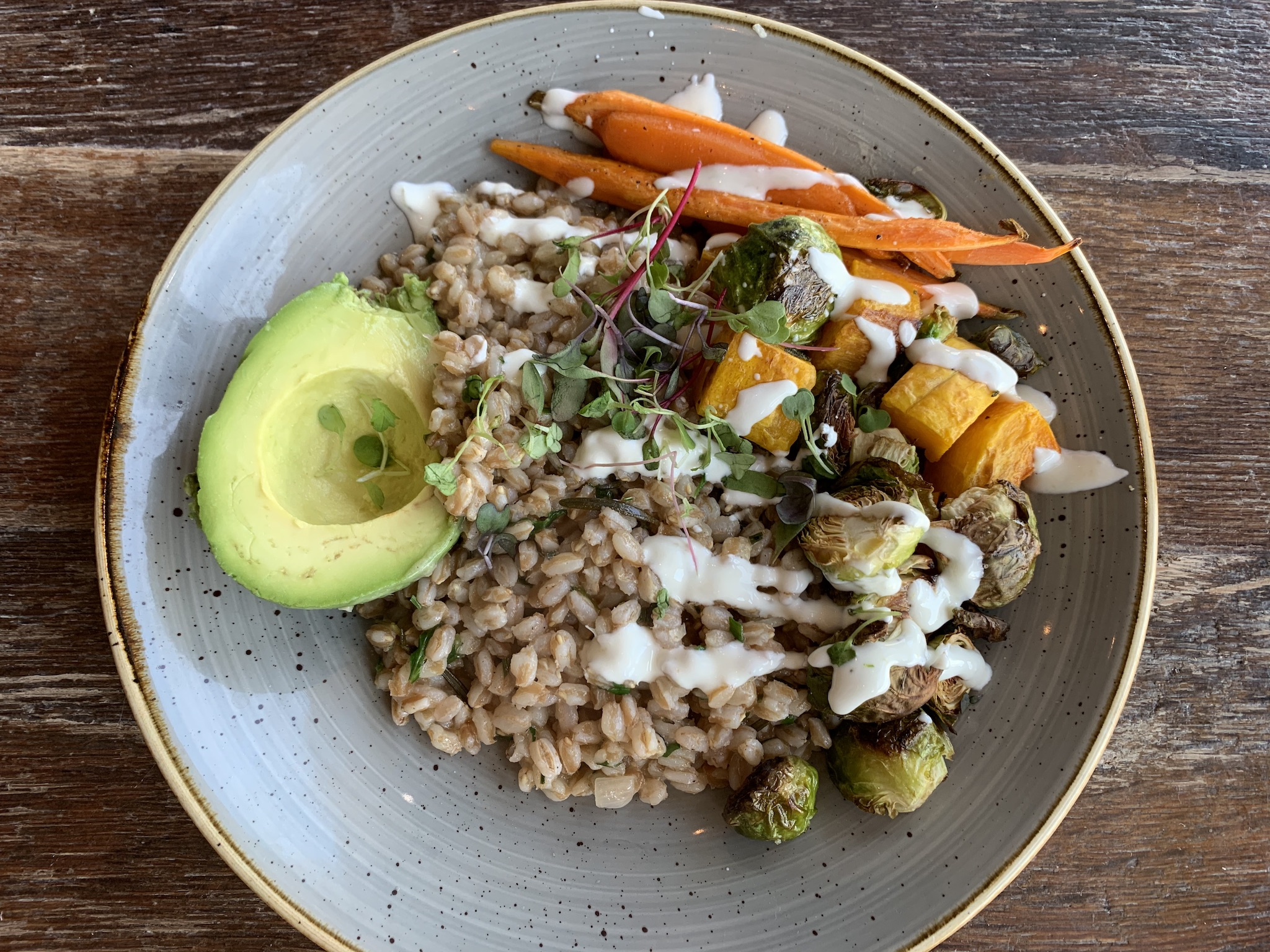 Noble Crust - Farro Bowl