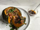 Cacio e Pepe Rice-Stuffed Kabocha Squash Recipe