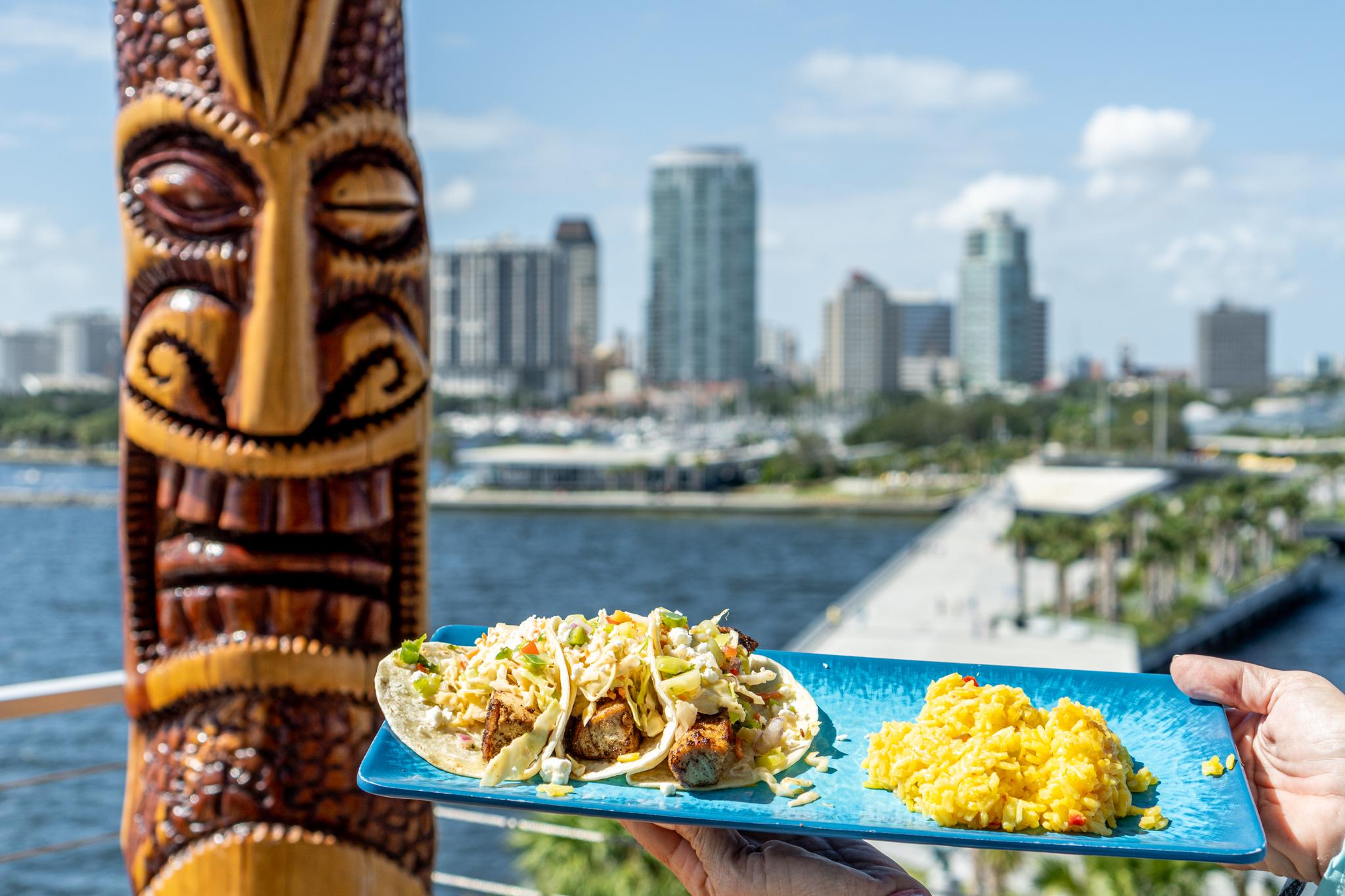 Pier Teaki Fish Tacos and Views