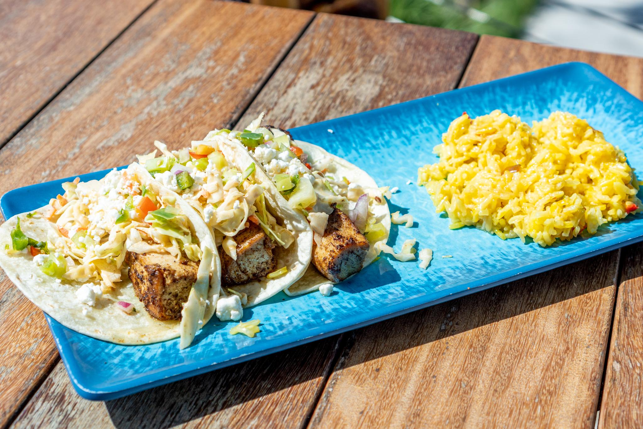 Pier Teaki Fish Tacos