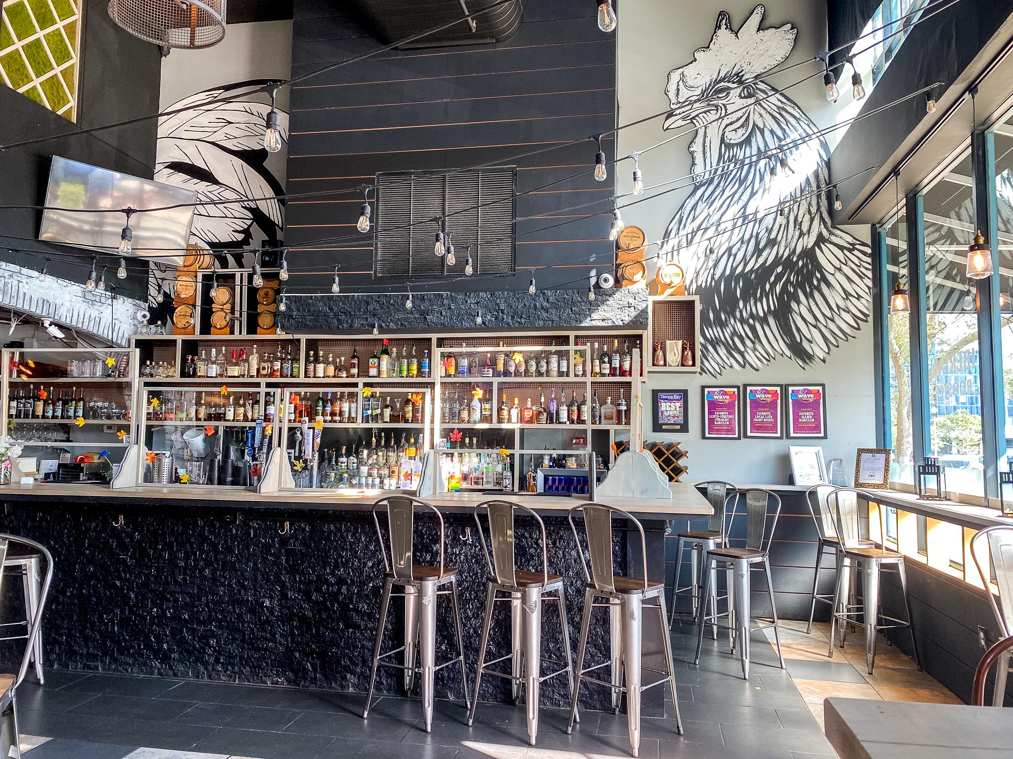 Avo's Kitchen Bar Area