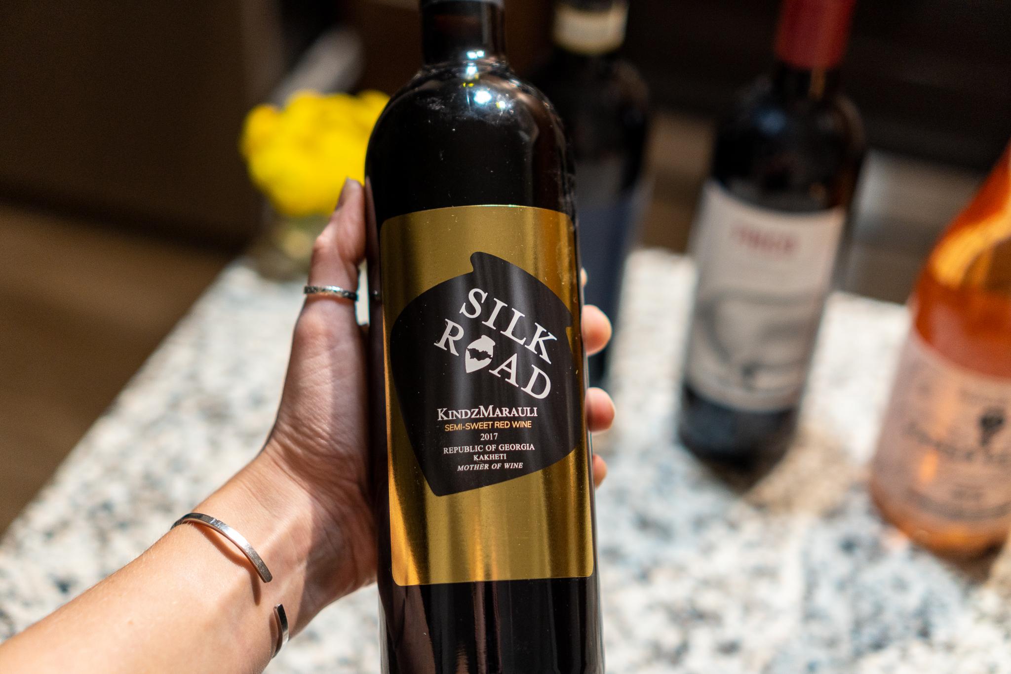 Must Wine Loft Silk Road KindzMarauli Semi-Sweet Red 2017