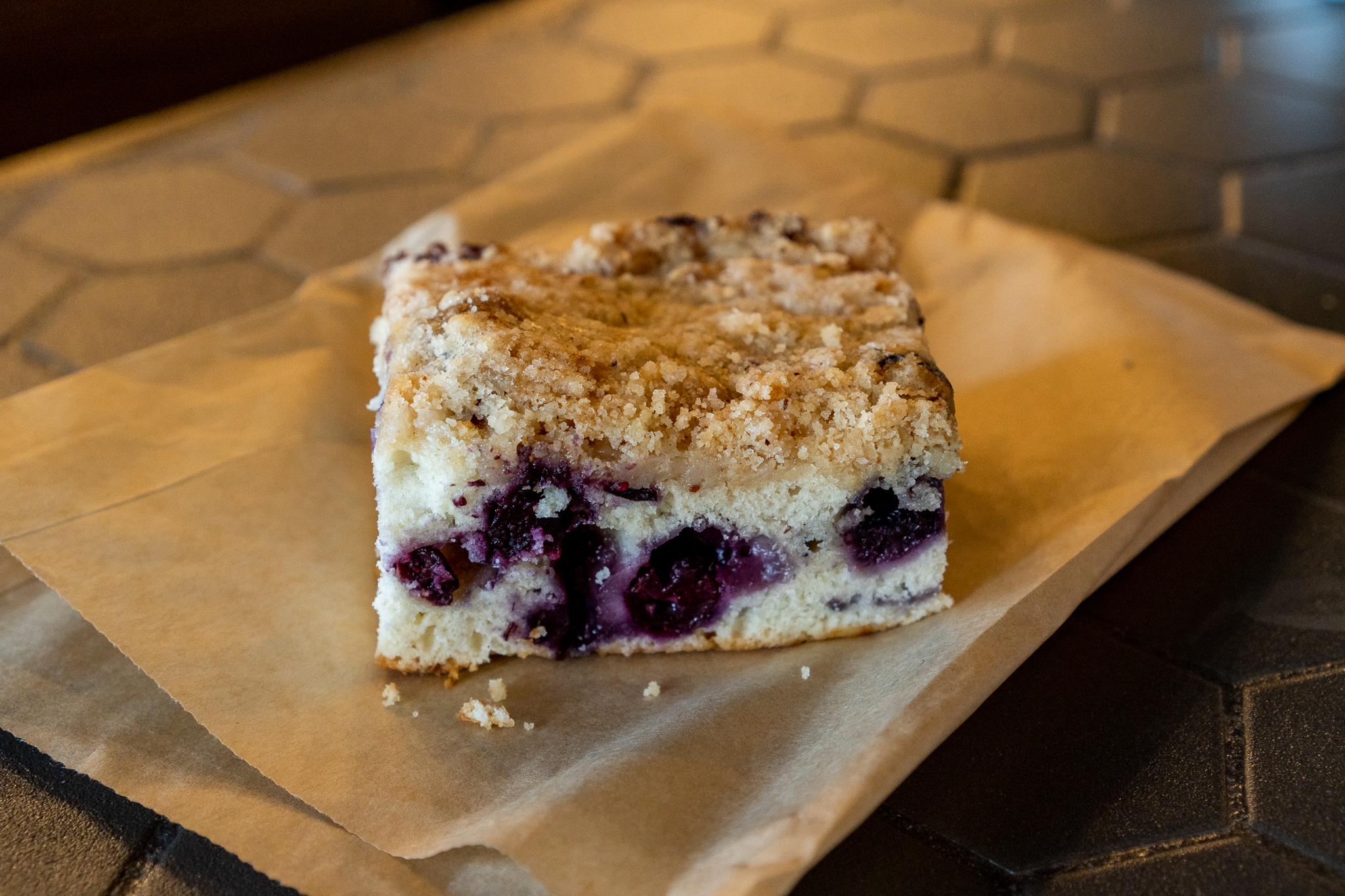 Uptown Eats Blueberry Pastry