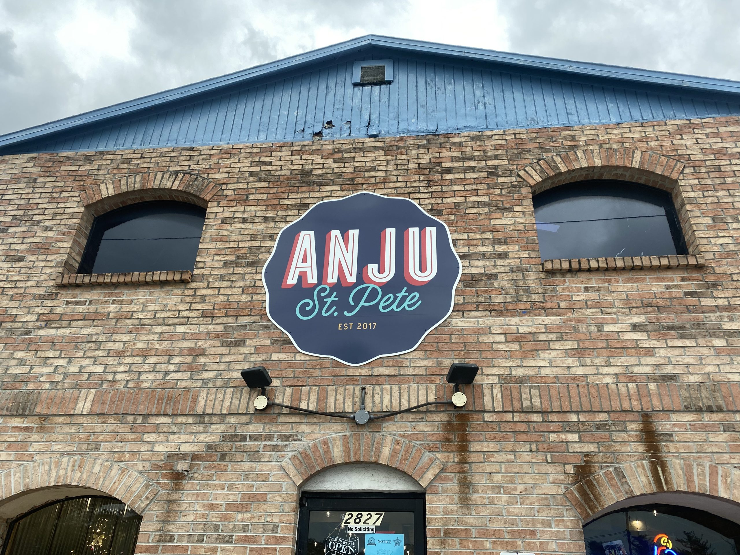 ANJU Exterior Location in St Petersburg
