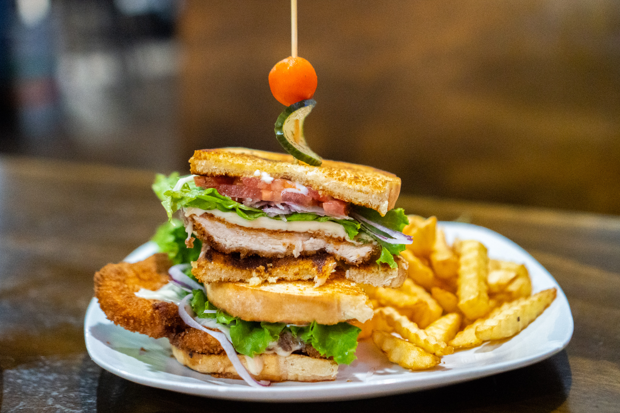 The Wheelhouse Big Mother Clucker Sandwich