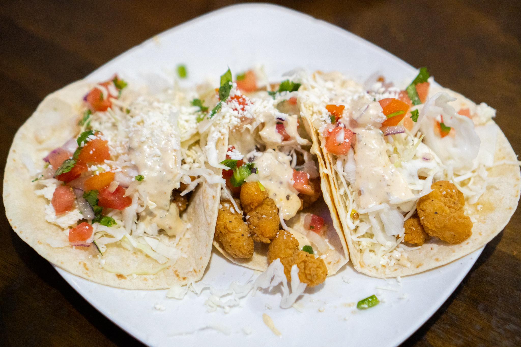 The Wheelhouse Big Shrimpin' Tacos