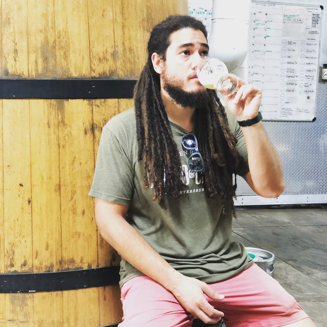 Khristopher Johnson, Head Brewer, Green Bench Brewing