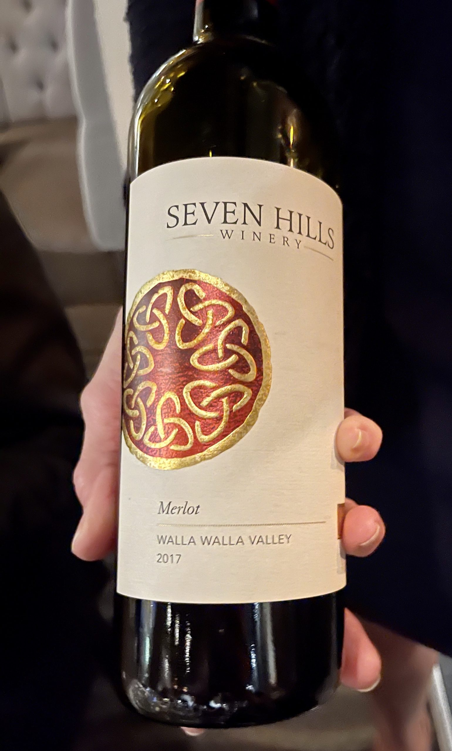 Sea Salt - Seven Hills Winery New World Merlot Walla Walla Valley 2017