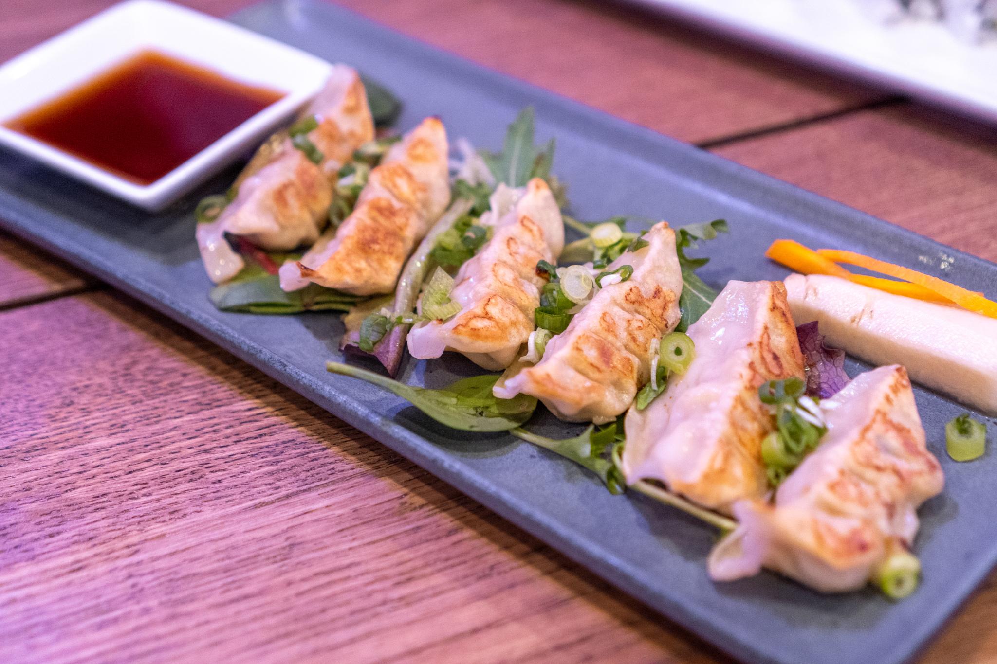 EBI Sushi Pork Gyoza